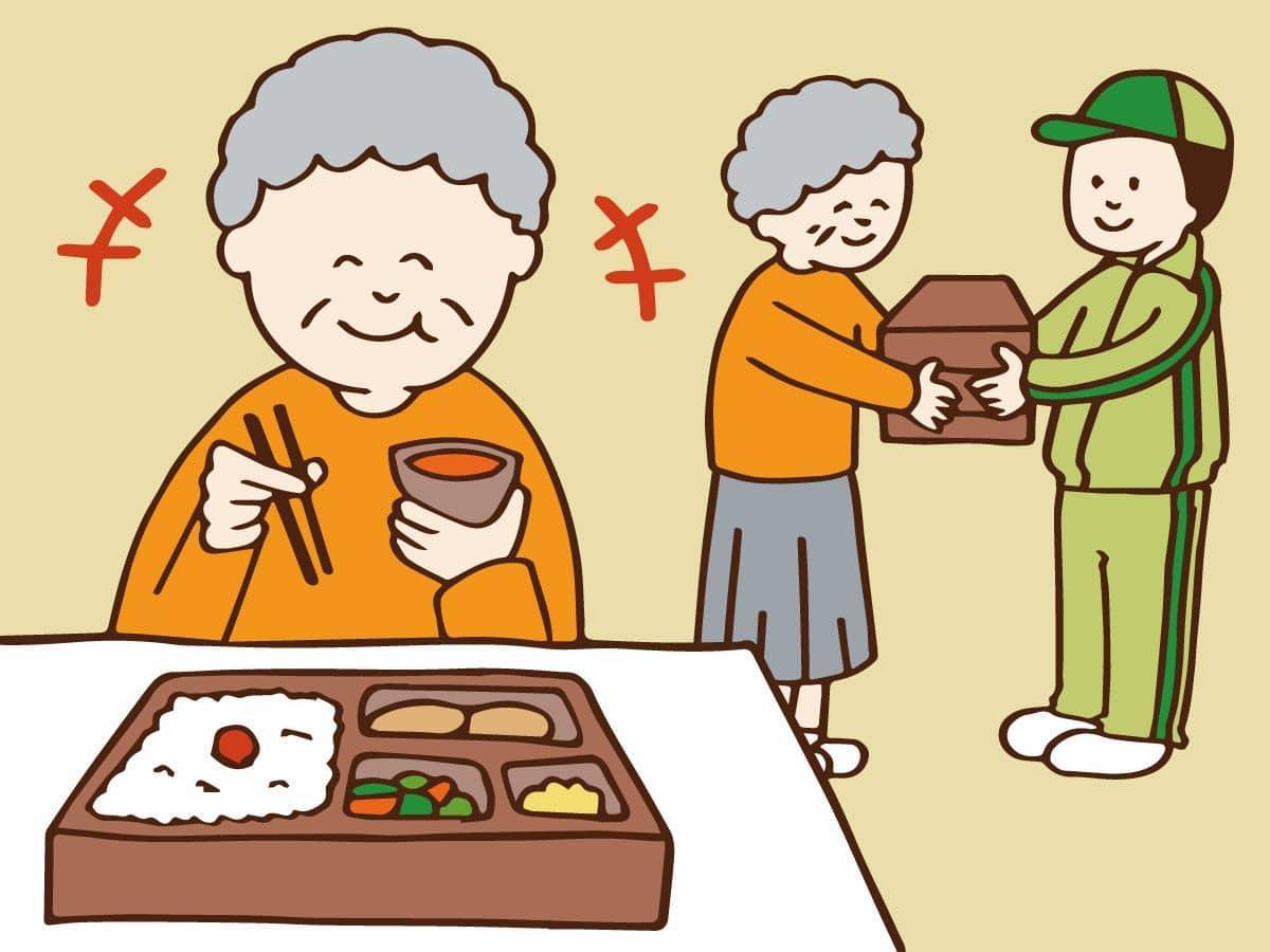 高齢者の食事を彩る配食サービス...