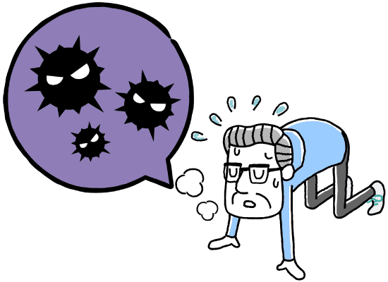 咳をすると頭が痛い 気管支炎